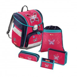 HAMA tornister plecak Butterfly Dancer zestaw