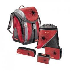 HAMA FLEXLINE  tornister plecak PAJĄK Black Widow zestaw