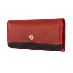 KRENIG portfel damski scarlet 13026 skóra