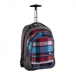 HAMA ALL OUT plecak na kółkach BOLTON woody grey