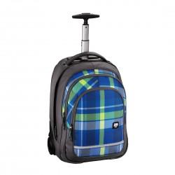 HAMA ALL OUT plecak na kółkach BOLTON woody blue