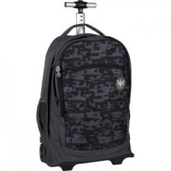 HAMA plecak na kółkach CHIEMSEE WHEELY  TYPO BLACK