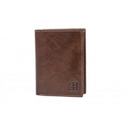 ENRICO BENETTI portfel męski skóra pudełko na prezent