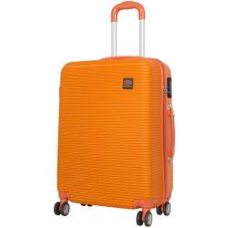 972f89a8bcafe Walizka średnia SANTORIN 4 koła pomarańczowa